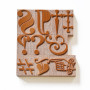 Typographic characters-wood-type
