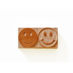 smiley face wood type