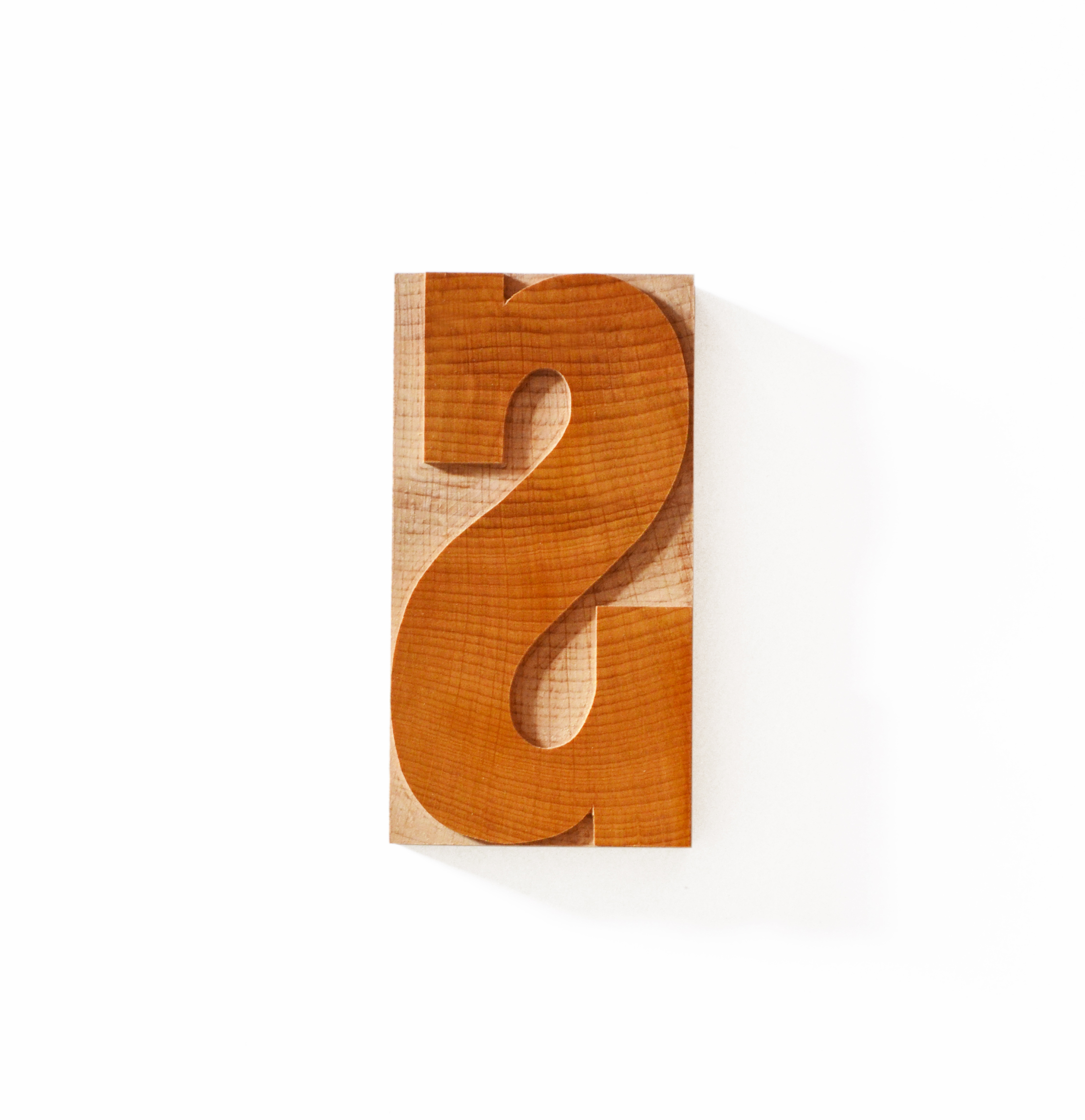 Slab Serif Wood Type